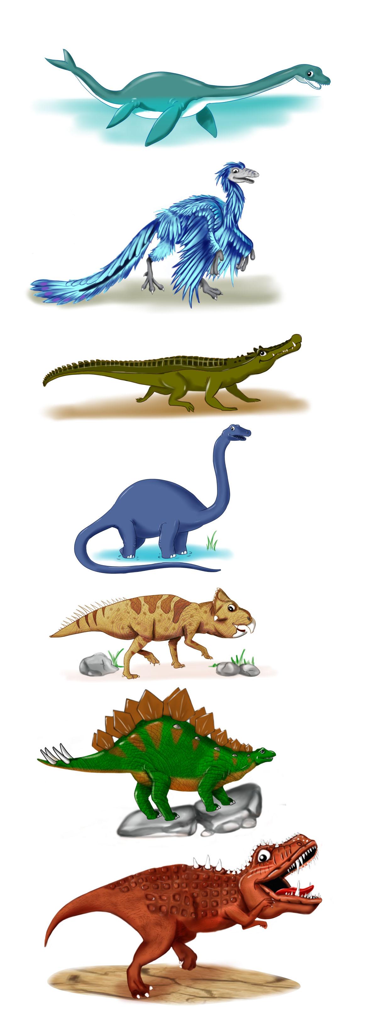 Many Dinosaurs
