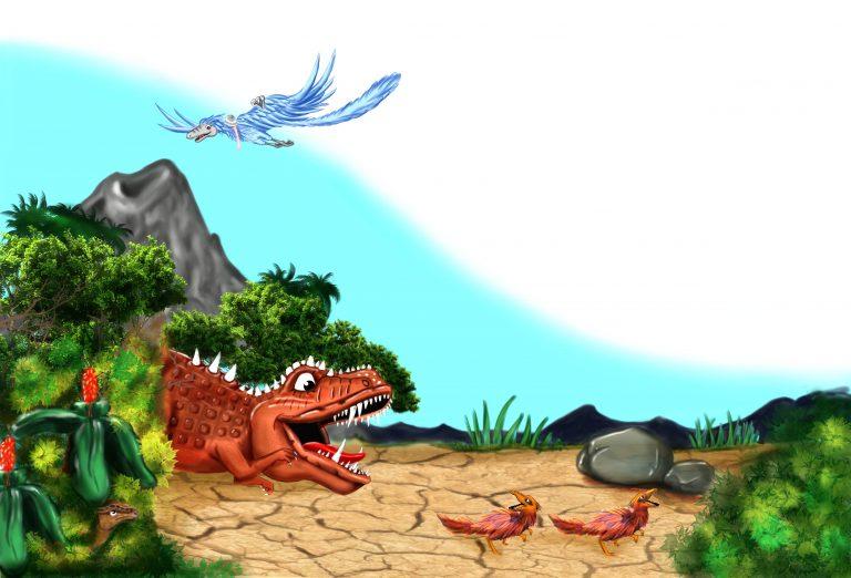 My Speacial Dinosaur Adventures page 10