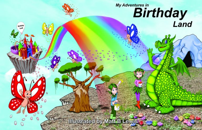 My Adventures In Birthday Land Cover