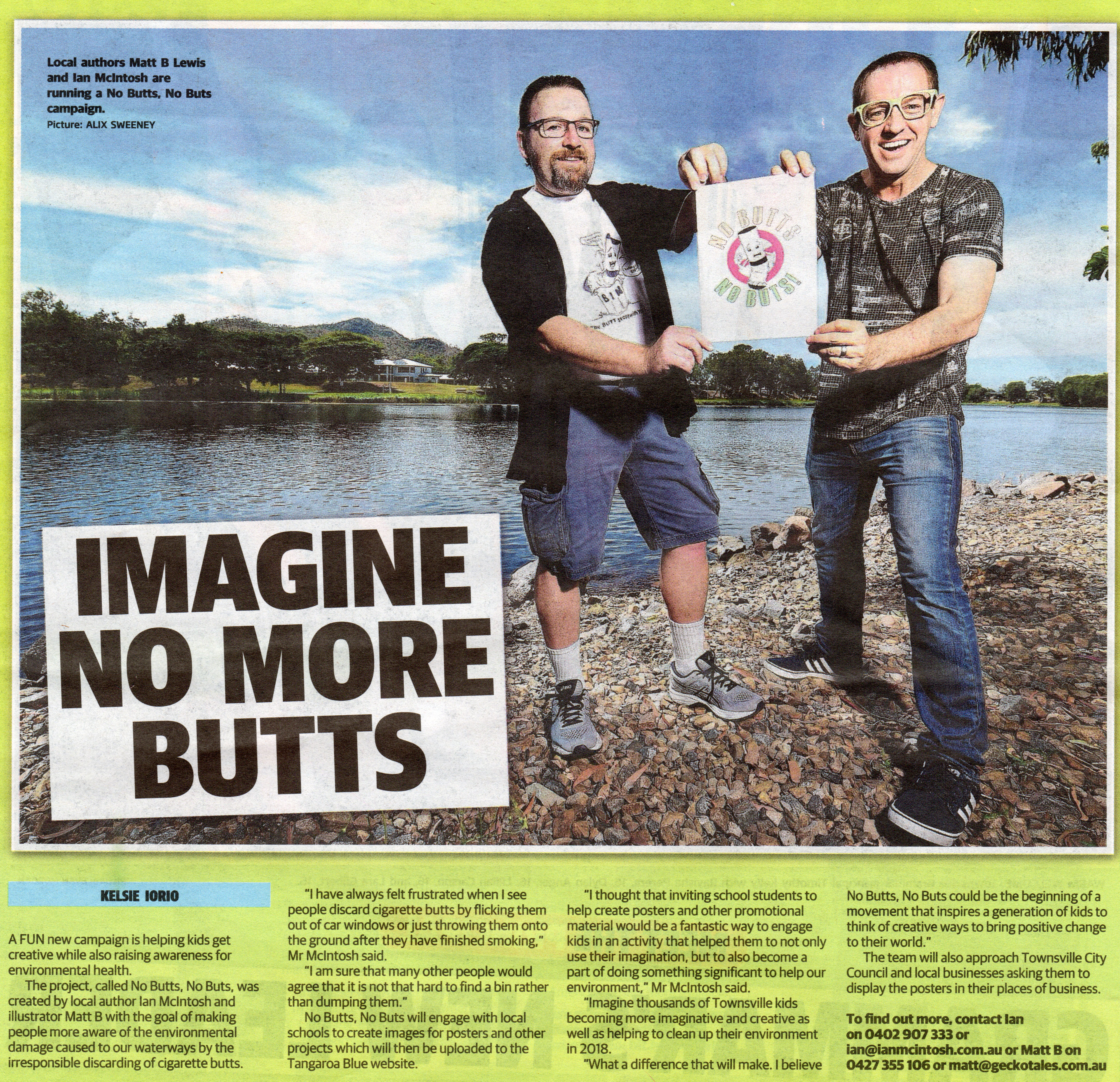 No Butts No Buts campaign