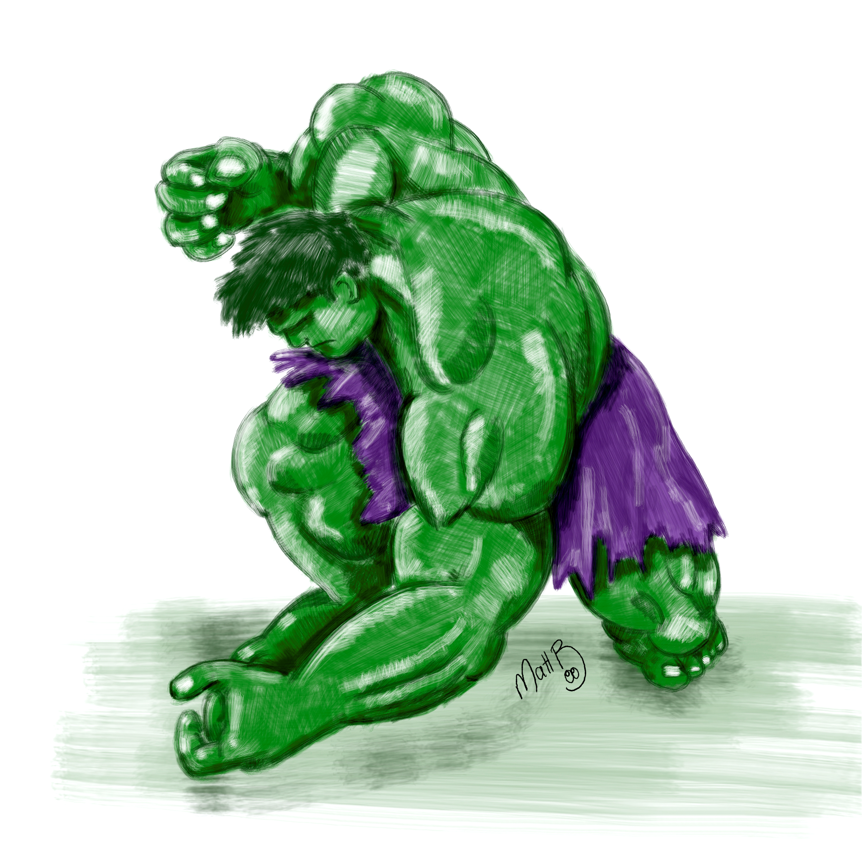 hulk-speed paint