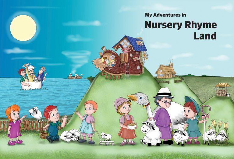 My Adventures in Nursery Rhyme Land cover