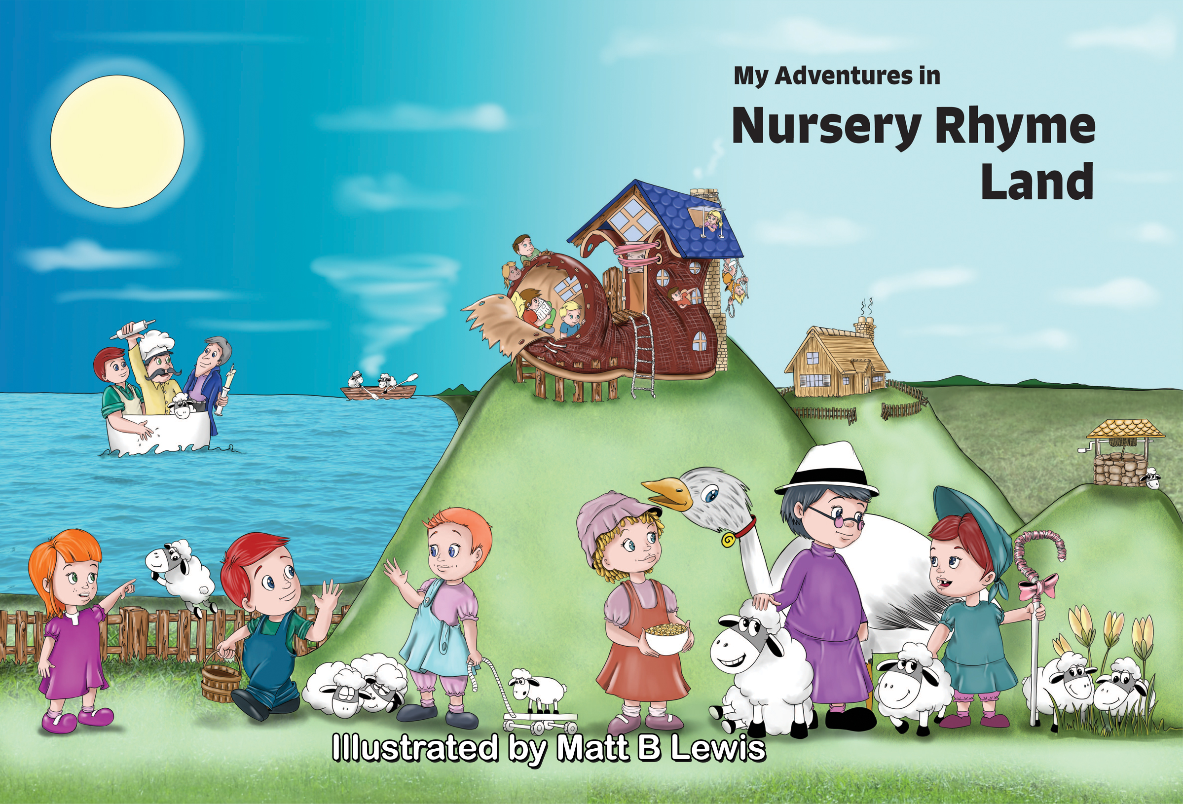 My Adventures in Nursery Rhyme Land cover