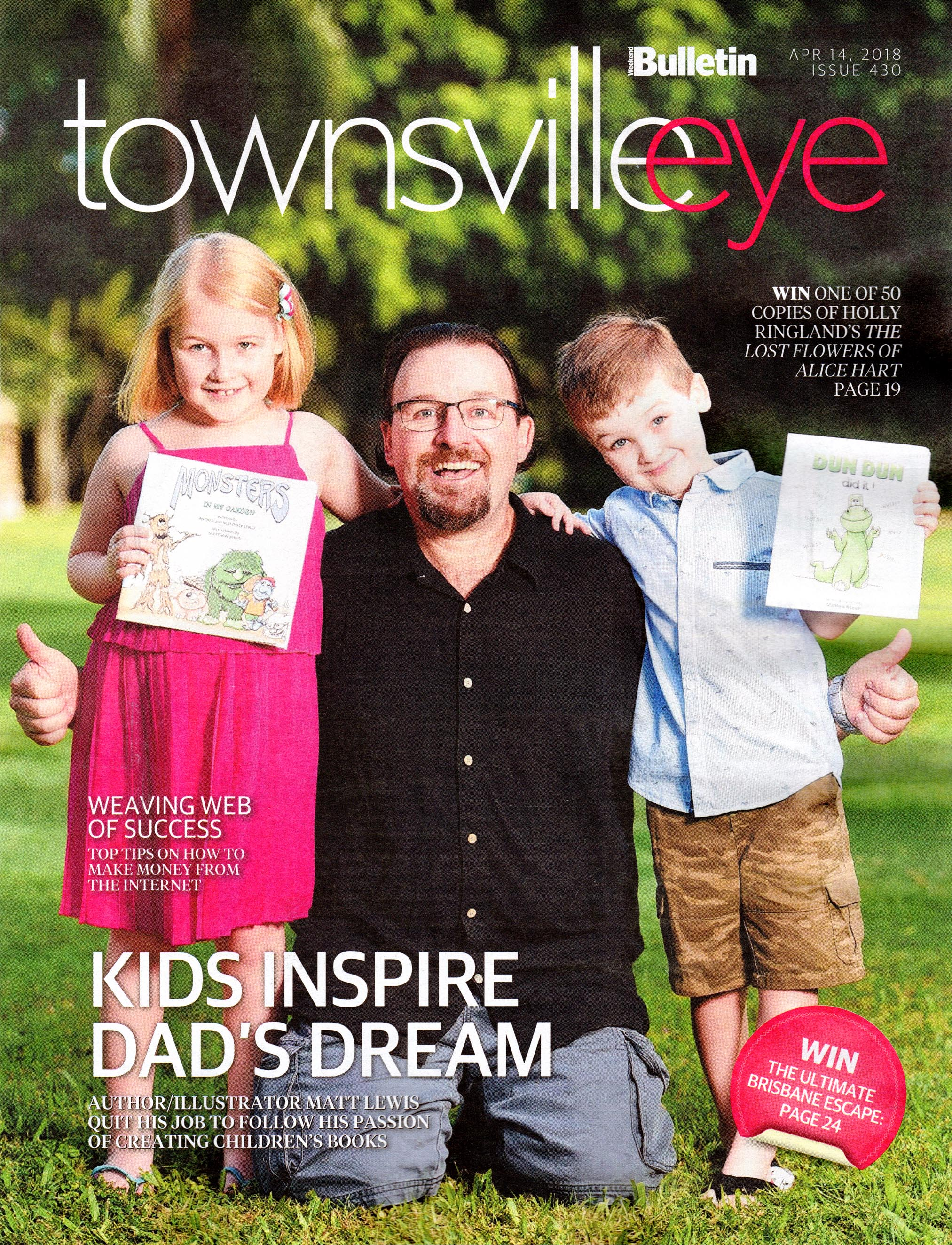 Matt B Townsville Eye Cover