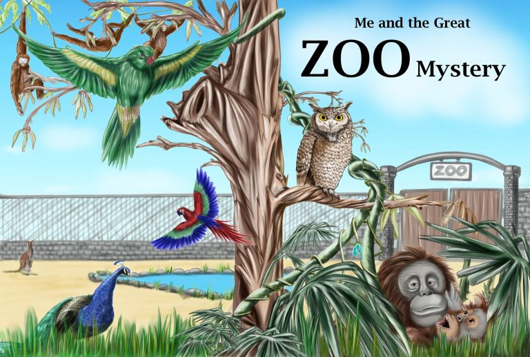 Zoo mystery book cover